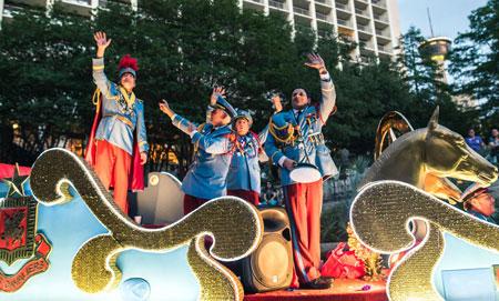 Texas Cavaliers River Parade San Antonio