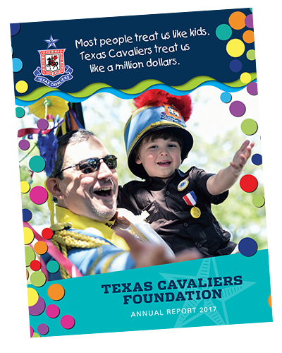 Texas Cavaliers Charitable Foundation 2017 Annual Report
