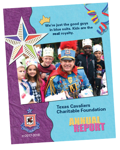 Texas Cavaliers Charitable Foundation 2018 Annual Report