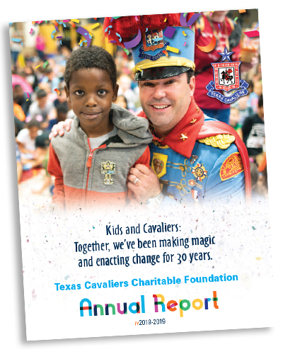 Texas Cavaliers Charitable Foundation 2019 Annual Report