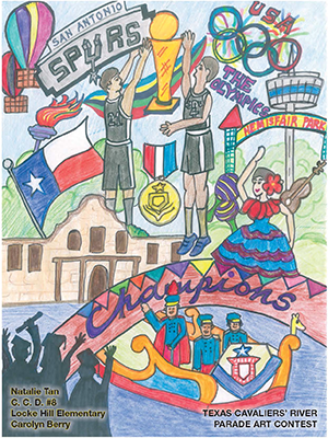 2016 Texas Cavaliers Student Art Contest Grand Prize Winner Announced